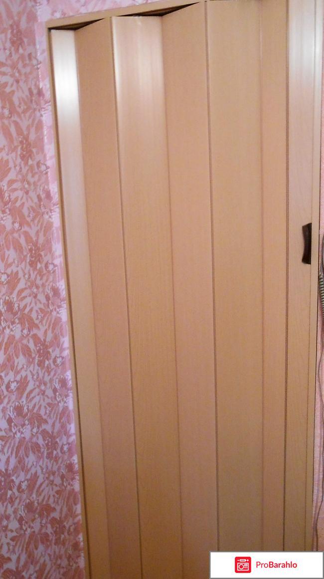 Дверь гармошка межкомнатная отрицательные отзывы