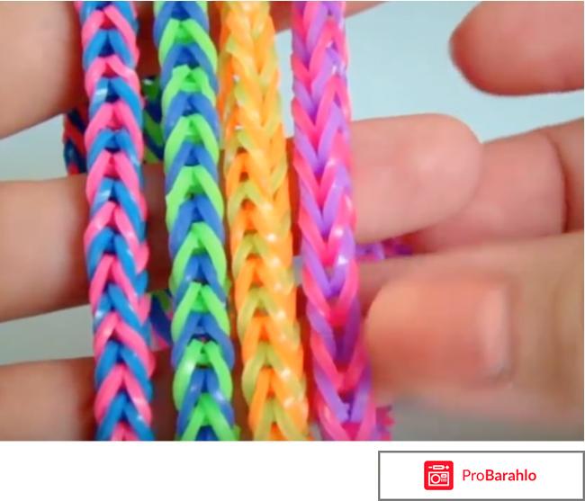 Плетение браслетов из резиночек отзыв с фото обман