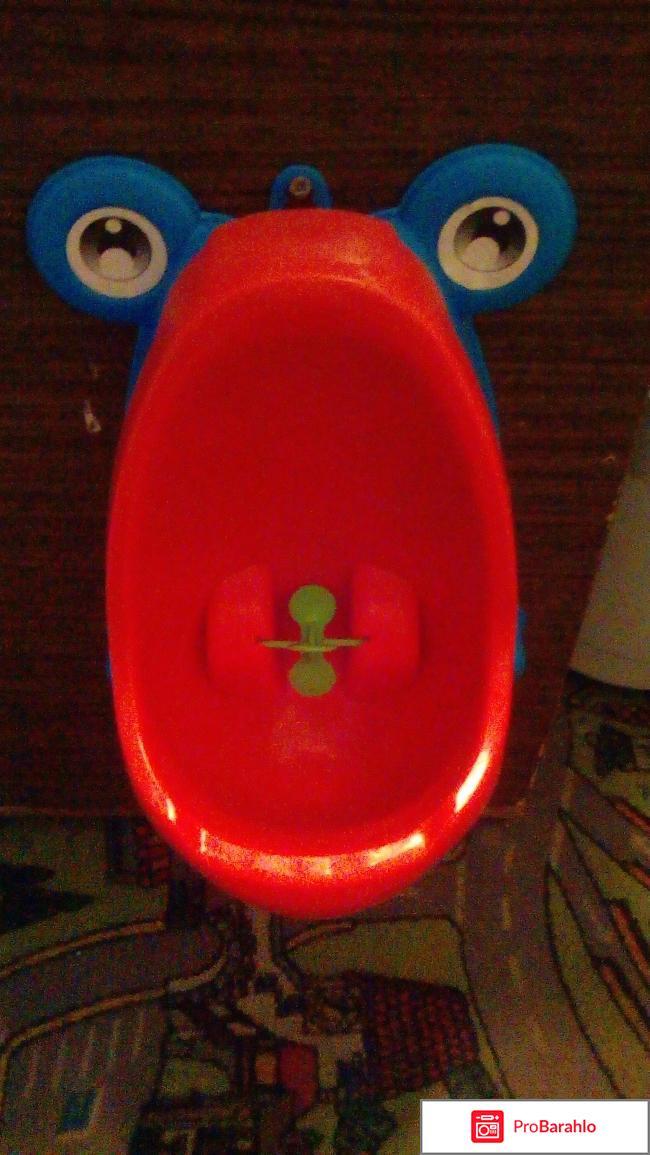 Писуар с алиэксспрес в виде лягушки