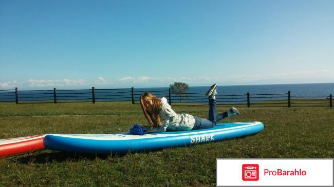 Надувная доска для sup-серфинга Lemon Shark Cross 10'6 обман