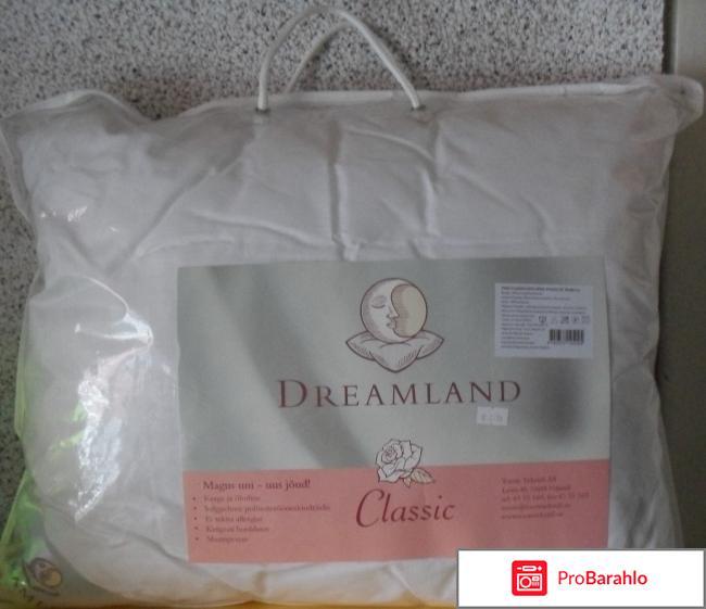 Подушка синтепоновая  Dreamland Classic