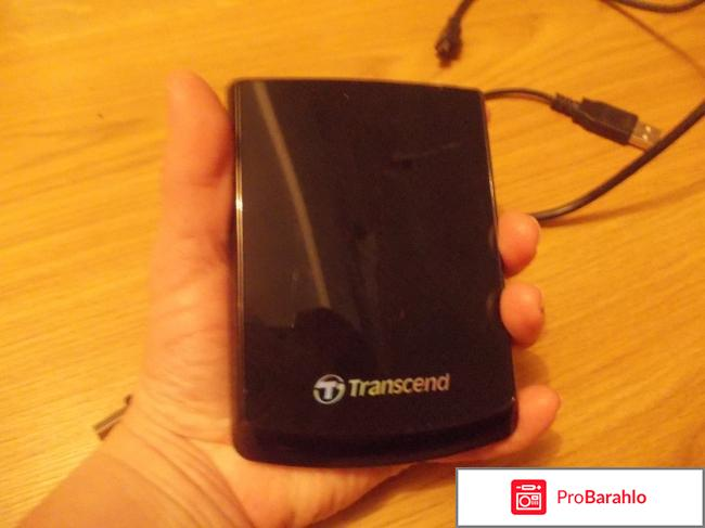 Внешний жесткий диск Transcend StoreJet 25F