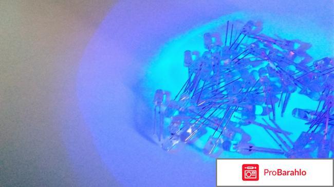 Светодиоды ультрафиолетовые Blucksun реальные отзывы