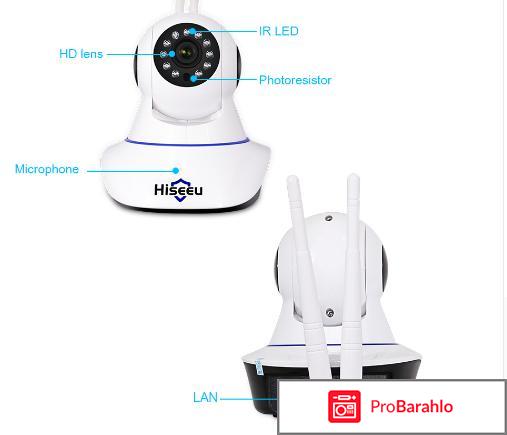 Беспроводная камера Hiseeu 1080 P IP