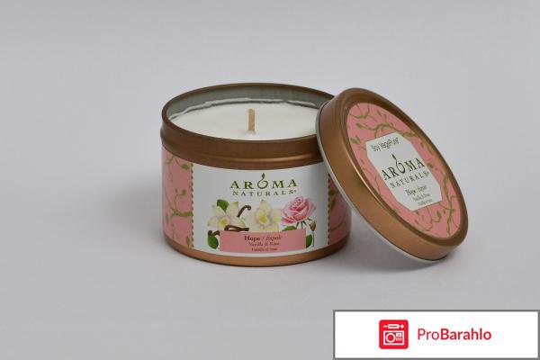 Ароматическая свеча Hope - Soy Vegepure Mini Tin Aroma Naturals
