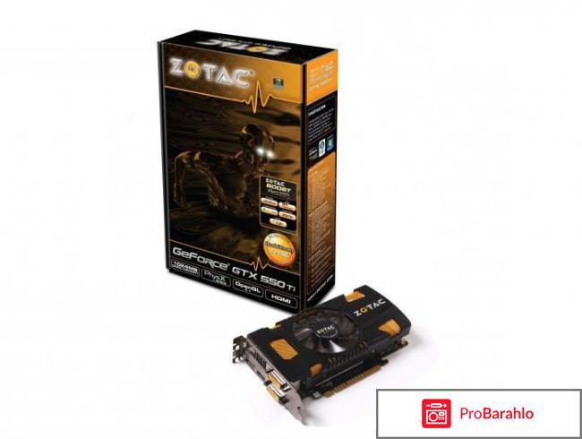 Видеокарта Asus GeForce GTX 550ti 1024MB DDR5/192bit