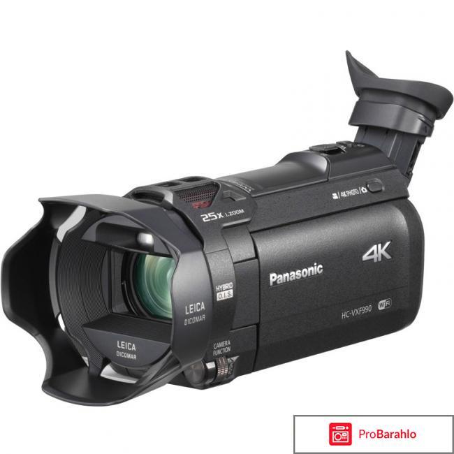 Panasonic HC-VXF990, Black 4K видеокамера