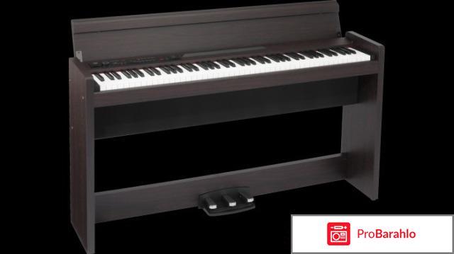 Цифровое пианино Korg LP-380-RW отрицательные отзывы