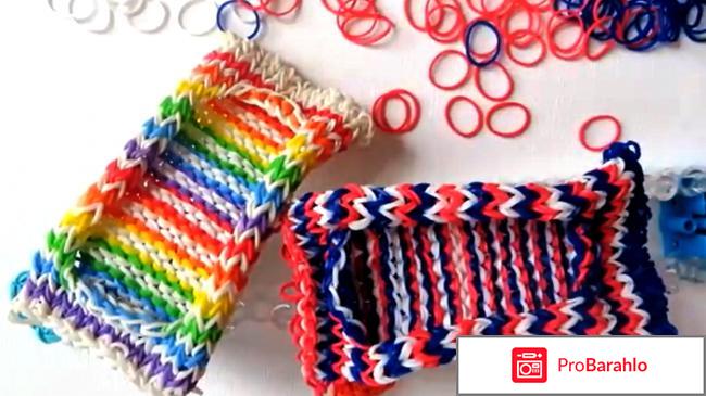 Плетение браслетов из резиночек отзыв с фото