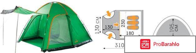 Палатка WoodLand WIGWAM-3 обман