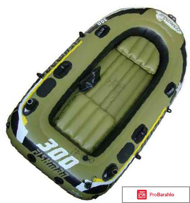 Лодка надувная Jilong Fishman 300 Set отрицательные отзывы