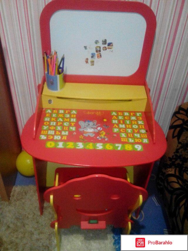 Парта со стульчиком Bambi  W 059 отрицательные отзывы