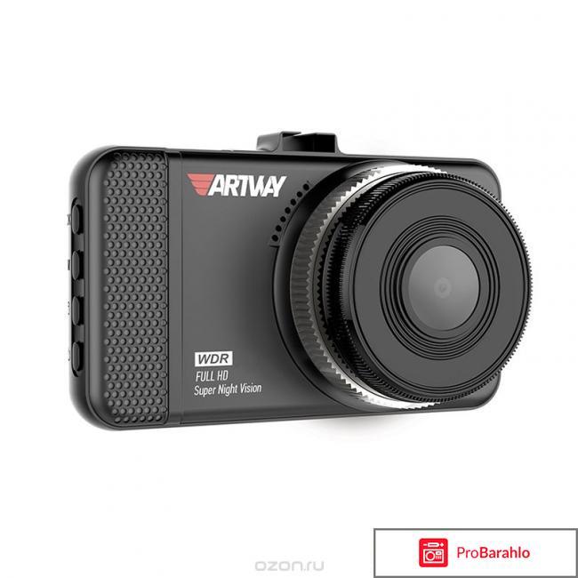 Artway AV-391, Black видеорегистратор отрицательные отзывы