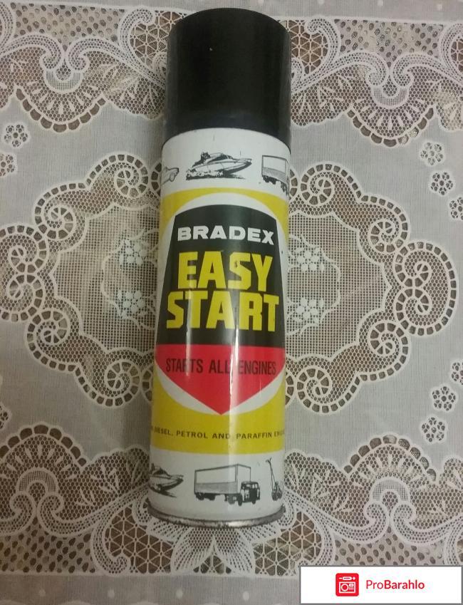 Жидкость для запуска двигателя Bradex