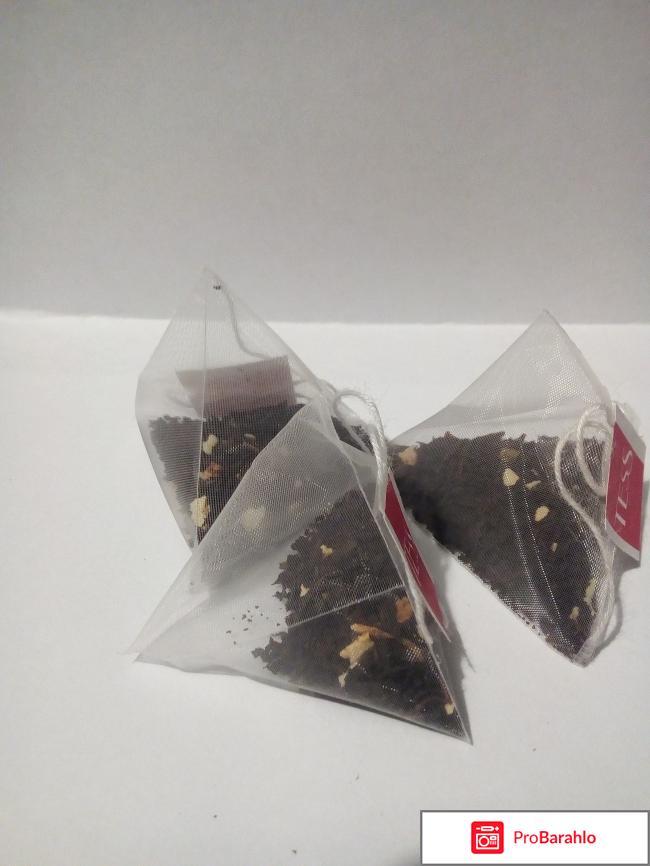 Чай в пирамидках Tess Limoncini Biscuit отрицательные отзывы
