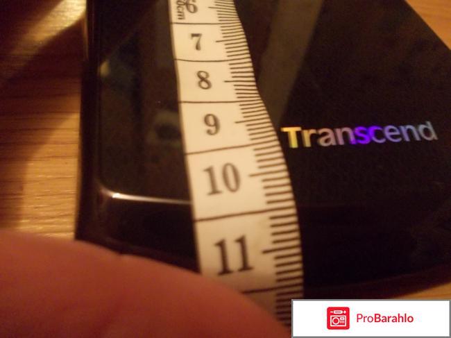 Внешний жесткий диск Transcend StoreJet 25F реальные отзывы