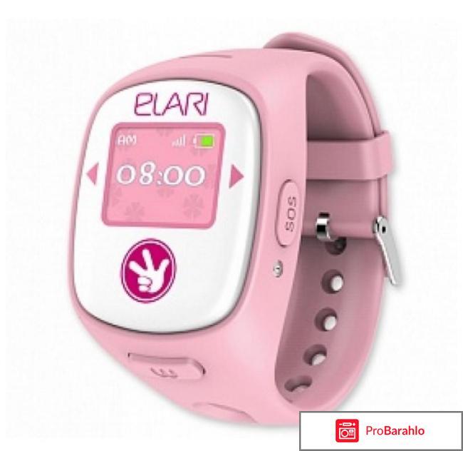 Часы-телефон детские Elari FixiTime отрицательные отзывы