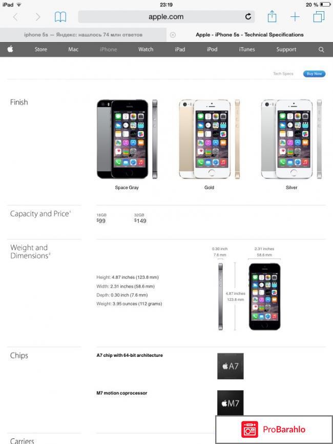 Реплика iphone 6s уже купивших