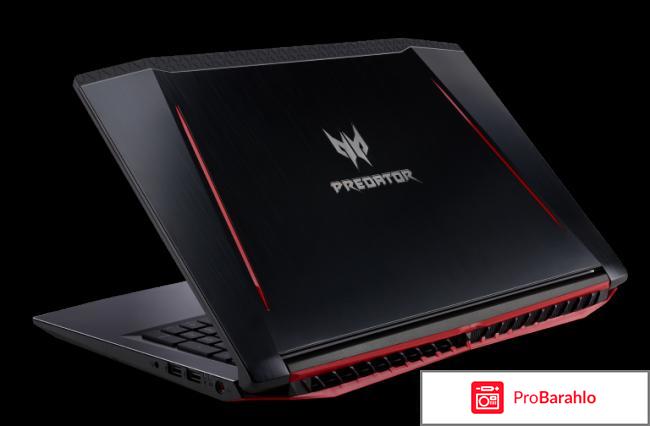 Acer Predator Helios 300 PH317-51-553H, Black обман