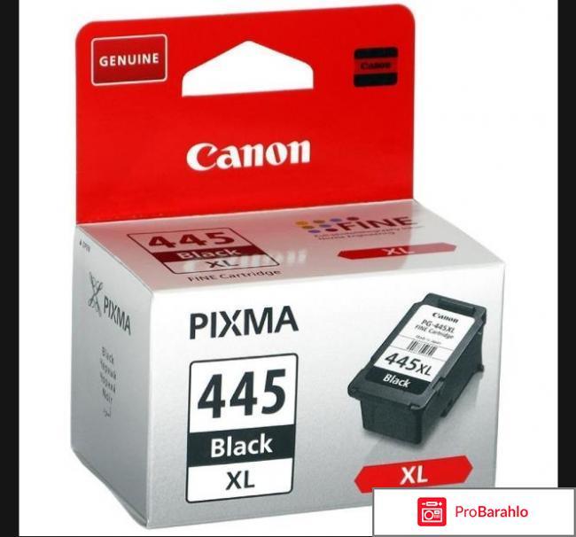 Картридж Canon PG-445 XL Black отрицательные отзывы