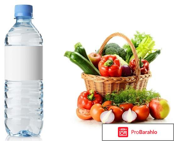Насколько эффективна диета Овощи и вода?